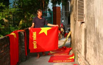 """""""Làng cờ đỏ"""" khai sinh từ ngày lập quốc"""