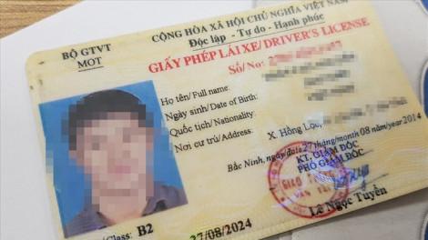 28 lỗi sẽ bị trừ điểm giấy phép lái xe