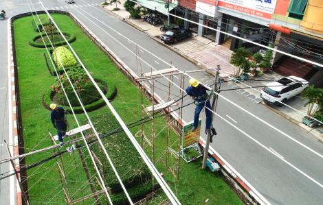 Đưa vào vận hành đường dây 110kV Phú Lâm - Bình Phú