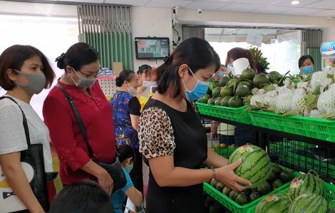 Ra mắt điểm bán thực phẩm sạch