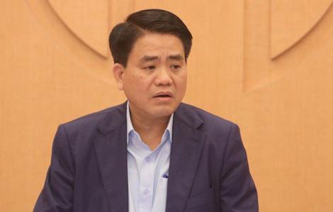 Ông Nguyễn Đức Chung bị tạm đình chỉ tư cách đại biểu HĐND thành phố Hà Nội