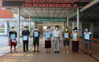 13 người khỏi bệnh COVID-19 xuất viện, có thầy giáo từng coi thi tốt nghiệp
