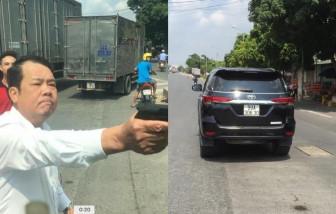 Triệu tập giám đốc Công ty bảo vệ Hàm Long vì rút súng dọa tài xế xe tải