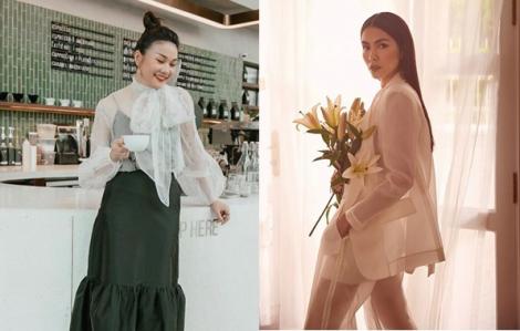Sao Việt chuộng mốt váy áo xuyên thấu mùa thu