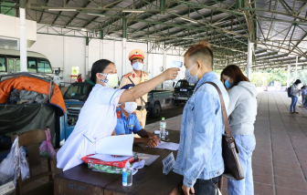 Công dân từ vùng dịch vào Huế phải có kết quả PCR âm tính trong vòng 72 giờ