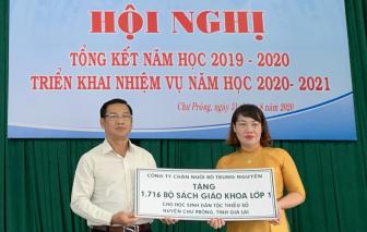 THADI tài trợ 1.716 bộ sách giáo khoa lớp 1 cho học sinh dân tộc thiểu số
