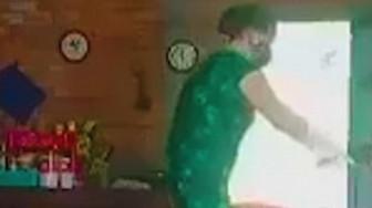 Con ruột của đối tượng là người quay clip bà ngoại bị bạo hành