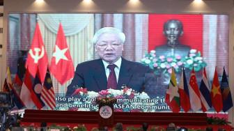 """Tổng bí thư, Chủ tịch nước Nguyễn Phú Trọng: """"ASEAN thành công hay không phụ thuộc vào đáp ứng lợi ích người dân"""""""