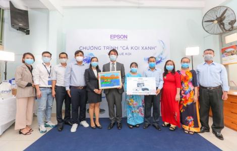 Epson Việt Nam dùng công nghệ lan tỏa tinh thần khuyến học
