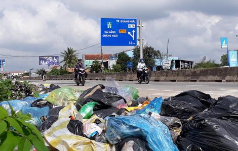 Quảng Ngãi quyết xử lý dứt điểm cuộc khủng hoảng rác từ năm 2018