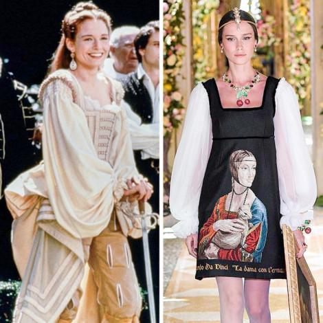 Những mẫu thời trang thời Phục Hưng đang trở lại