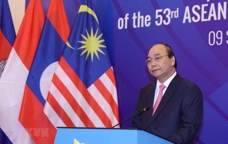 """Thủ tướng Nguyễn Xuân Phúc: """"ASEAN đang điều chỉnh, thích nghi"""""""