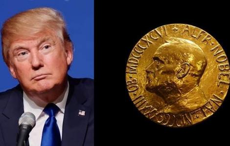 Tổng thống Donald Trump được đề cử Nobel Hòa bình 2021