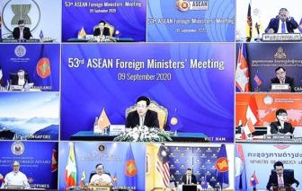 Bộ trưởng Ngoại giao Cấp cao Đông Á kêu gọi sớm hoàn tất Bộ Quy tắc ứng xử tại Biển Đông