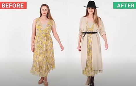 Clip: Phối váy hè cho mùa thu sành điệu