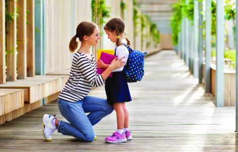 Trẻ bất ổn tâm lý vì chuyển trường, chuyển cấp