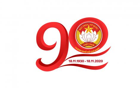 TPHCM công bố biểu trưng tuyên truyền nhân kỷ niệm 90 năm Ngày Truyền thống MTTQ Việt Nam