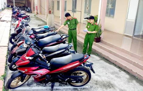 Bắt băng trộm xe máy theo… đơn đặt hàng