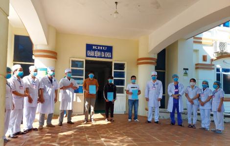3 người cuối cùng xuất viện, Quảng Ngãi không còn bệnh nhân COVID-19