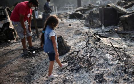 Ít nhất 9 người thiệt mạng do cháy rừng tại Mỹ