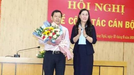 Trưởng ban Tổ chức tỉnh ủy giữ chức Chủ tịch UBND tỉnh Quảng Ngãi