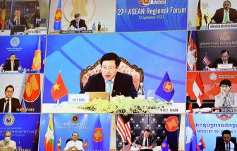 ARF thúc đẩy các bên giải quyết hòa bình vấn đề Biển Đông