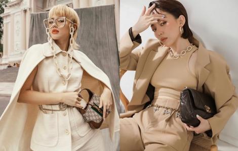 Phụ kiện thời trang giúp mỹ nhân Vbiz thể hiện cá tính