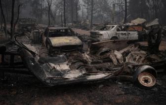 Loạt ảnh Oregon bị tàn phá do cháy rừng