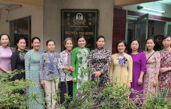 Hội LHPN TP.HCM dâng hương tưởng nhớ nữ tướng Nguyễn Thị Định