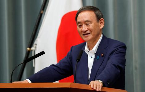 Ông Suga giành chiến thắng trong cuộc đua lãnh đạo đảng cầm quyền thay thế Thủ tướng Shinzo Abe