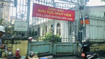 Cao ốc tứ giác Bến Thành đang làm Bảo tàng Mỹ thuật TPHCM lún, nứt nghiêm trọng