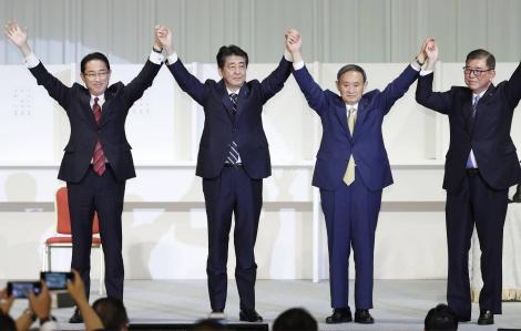 Yoshihide Suga: Chiến thắng ngoạn mục của tân Thủ tướng không thuộc dòng dõi ''hoàng tộc''