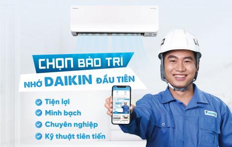 Daikin Việt Nam chính thức ra mắt ứng dụng đặt dịch vụ bảo trì máy điều hòa