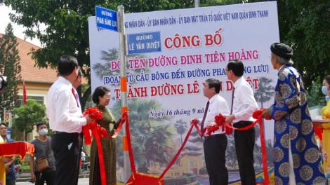 Đường Đinh Tiên Hoàng chính thức mang tên Lê Văn Duyệt
