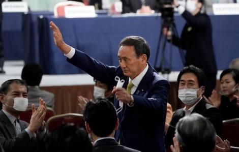 Ông Yoshihide Suga trở thành tân Thủ tướng Nhật Bản
