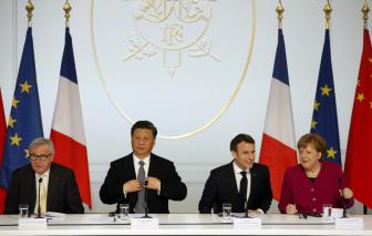 Anh, Pháp, Đức đưa tuyên bố chung, bác bỏ yêu sách của Trung Quốc ở Biển Đông