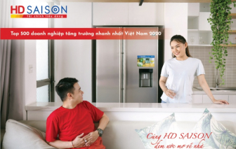 HD SAISON thuộc Top 50 doanh nghiệp tăng trưởng xuất sắc