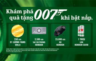 Phiên bản giới hạn Heineken James Bond ra mắt  Với hơn một triệu phần quà hấp dẫn bên dưới nắp lon