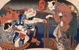 Mèo trong văn hóa Nhật Bản: Vừa là thần linh vừa là quỷ ăn thịt người