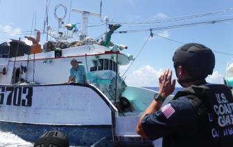 Mỹ chống lại tình trạng đánh bắt cá trái phép trên biển, tập trung vào tàu cá Trung Quốc