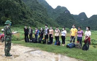Phát hiện 11 người nhập cảnh trái phép từ Trung Quốc vào Việt Nam