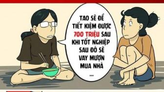 Giễu nhại sinh viên mua nhà ở tuổi 23 hay thói đố kỵ của người Việt