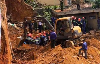 Khởi tố chủ nhà thầu thi công trong vụ sập taluy khiến 4 người chết
