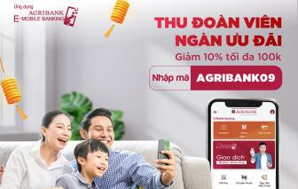 Nhận ngay ưu đãi 100.000 đồng khi mua sắm trực tuyến trên trên ứng dụng Agribank E-Mobile Banking