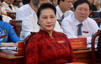 Chủ tịch Quốc hội Nguyễn Thị Kim Ngân: Phấn đấu phát triển Cần Thơ trở thành đô thị hạt nhân của vùng