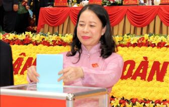 Bà Võ Thị Ánh Xuân tái cử Bí thư Tỉnh ủy An Giang