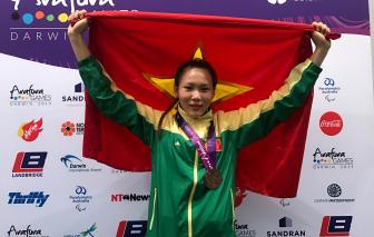 Cô gái được vinh danh trên đấu trường Châu Á
