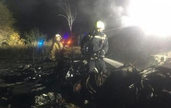 Ít nhất 22 người chết trong vụ rơi máy bay quân sự ở Ukraine