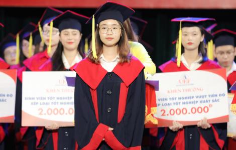 Nữ thủ khoa gần đạt điểm tuyệt đối, duy trì học bổng 100% suốt khóa học