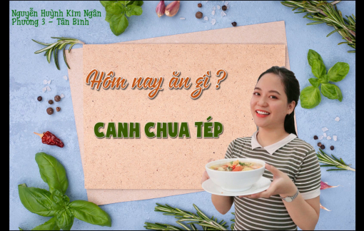 Trổ tài nấu canh chua tép